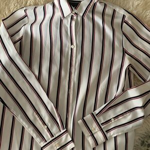White striped blouse